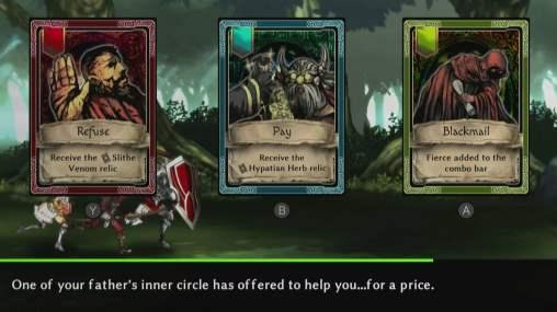 Voici le genre de choix que vous aurez à faire dans Fallen Legion !