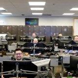 Salle de contrôle du Xbox Live à Seattle