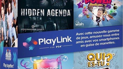 Compilation de jeux Playlink.