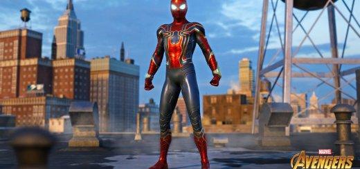 La tenue de iRon Spider :) !