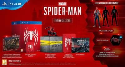 L'édition collector de Marvel Spiderman sur PS4 !