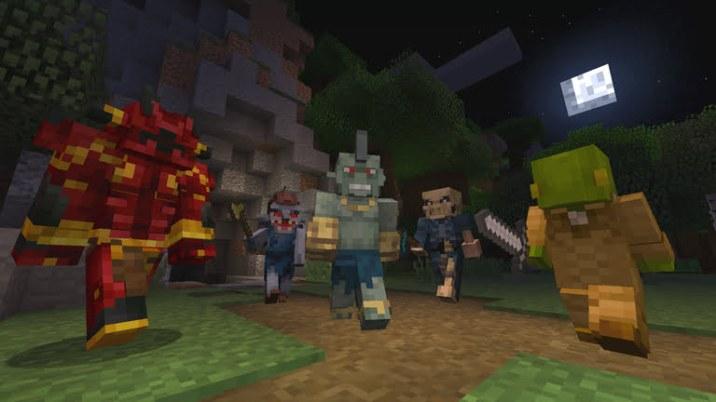 Final Fantasy XV dans Minecraft