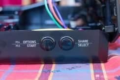 Start et Select du Stick Arcade Razer Panthera édition Street Fighter V