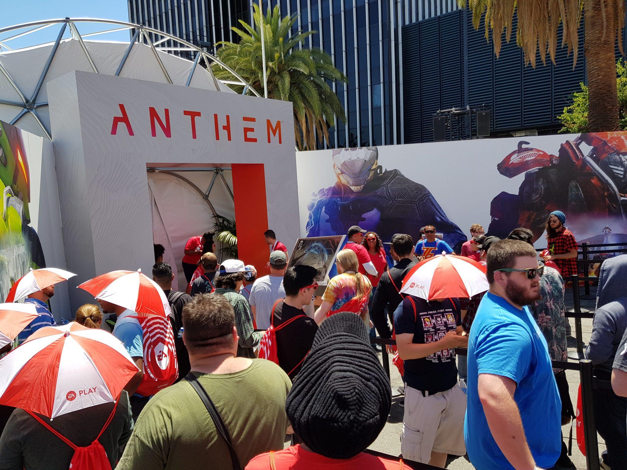 Le jeu Anthem a eu un succès monstrueux sur le stand EA Play !