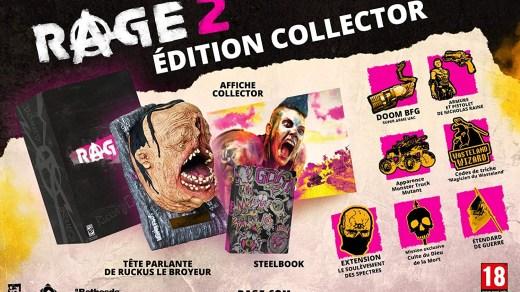 Rage 2 dans son édition collector :) !