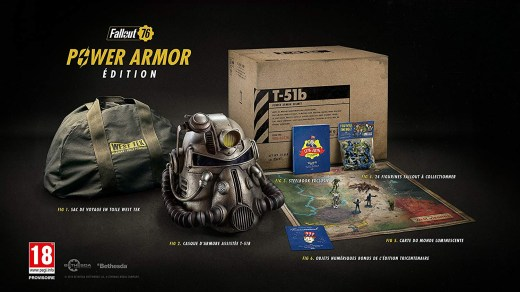 L'édition collector de Fallout 76