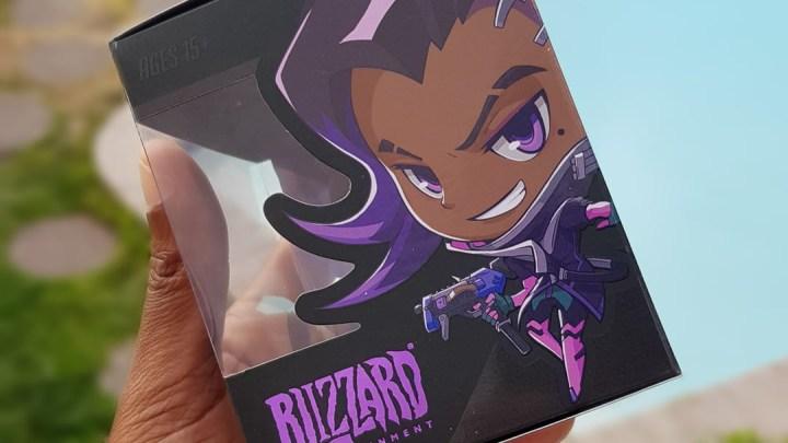 Bon... Pour le coup, je triche un peu : J'ai acheté cette Sombra à la Blizzard Arena !