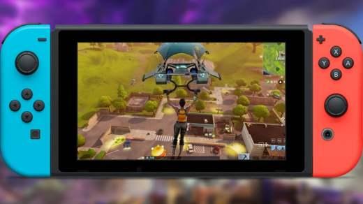 L'excursion de Fortnite sur Nintendo Switch se confirme peu à peu...