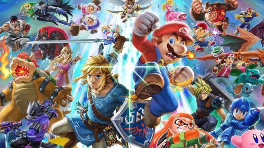 J'avoue, j'attendais une occasion d'utiliser ce superbe artwork de Super Smash Bros Ultimate...