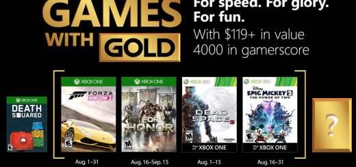 4000G offert aux membres Xbox Live Gold !