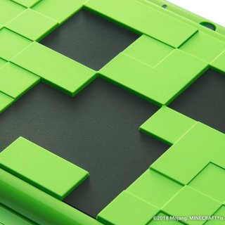 2DS XL Minecraft collector Creeper