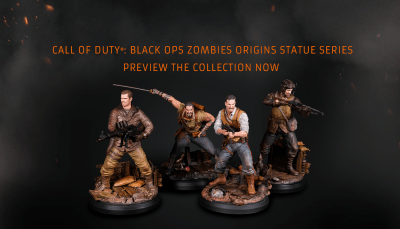 Figurines du mode Zombie de Call of Duty Black Ops 4