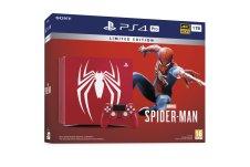 Boîte de de la PS4 collector Spider-Man