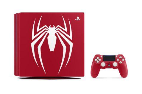 La PS4 Pro Collector SpiderMan