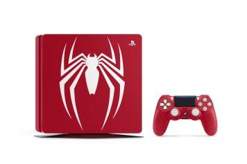 La PS4 Collector SpiderMan