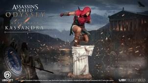 La figurine de Kassandra (Assassin's Creed Odyssey)