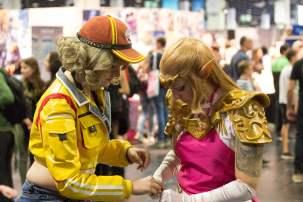 Cosplay Ocarina of Time Gamescom 2018