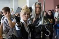 Cosplay Cloud et Sephiroth Gamescom 2018