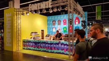 Boutique Fortnite Gamescom 2018