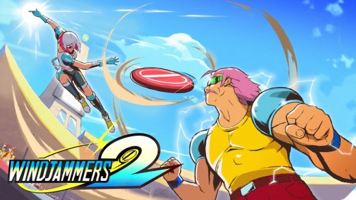 Windjammers 2 sur PC et Nintendo Switch !