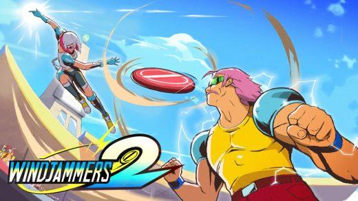 Windjammers 2 sur PC et Nintendo Switch !