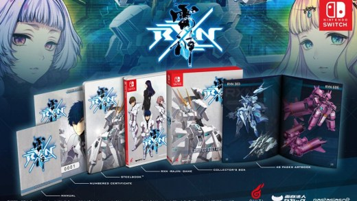 L'édition collector de RXN : Raijin sur Nintendo Switch