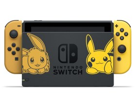 Console collector Nintendo Switch Pikachu & Evoli