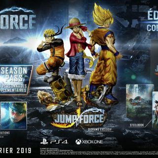 L'édition collector de Jump Force...