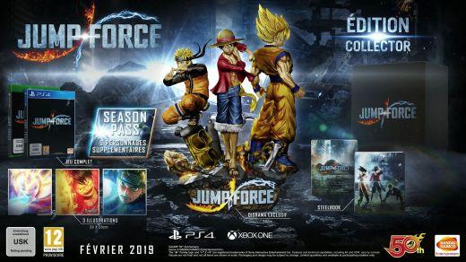 L'édition collector de Jump Force...