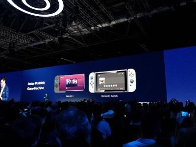 Oui, oui, Huawei est bel et bien en train de comparer son téléphone à la Nintendo Switch...