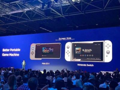 La qualité de l'écran du Huawei 20 X sera bien meilleure que celle de la Nintendo Switch.