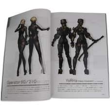 Artbook de Nier Automata