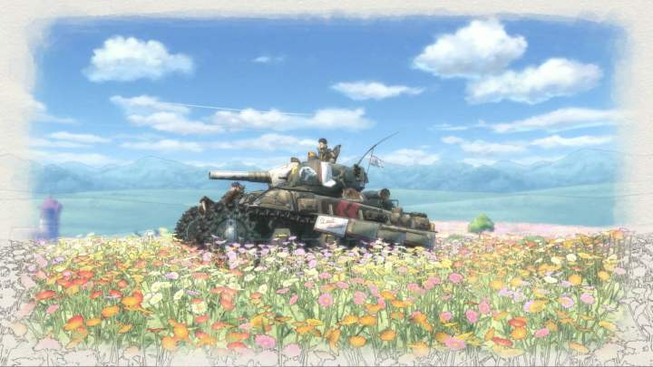 Les fameux tanks de Valkyria Chronicles 4