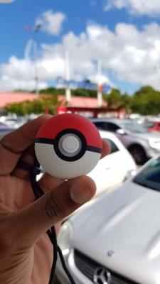 Ouais, maintenant, faire mes courses me permet de capturer discrètement des Pokémon...