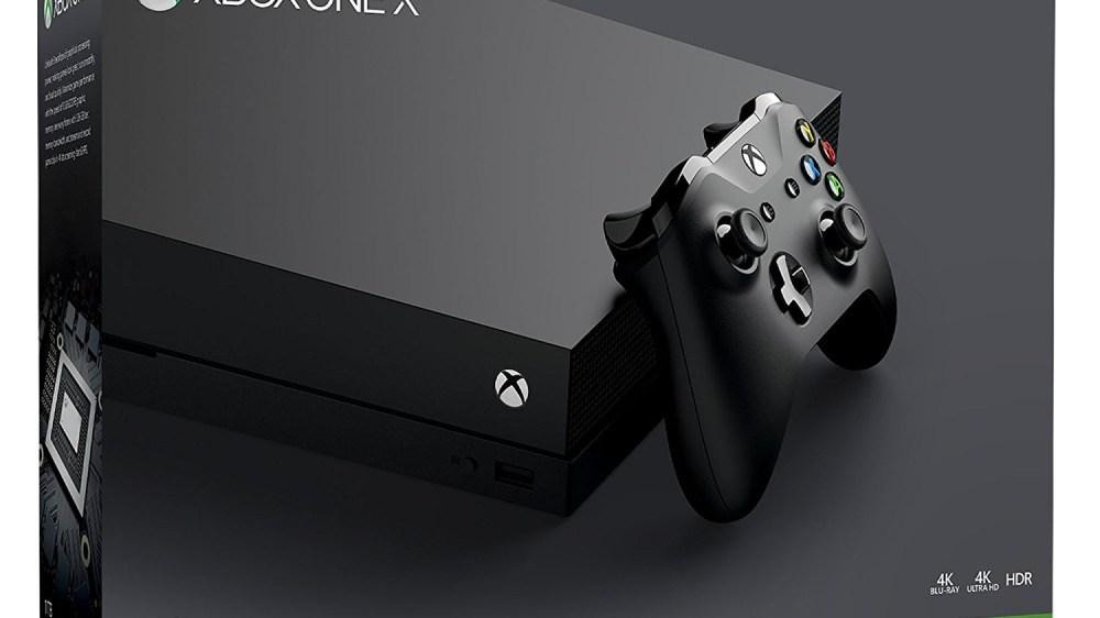 Une superbe promotion sur la Xbox One X !