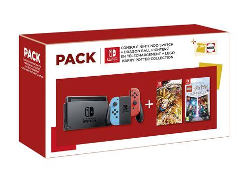 Le meilleur pack Nintendo Switch de cette fin d'année sur?