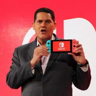 Reggie Fils Aimé, PDG de Nintendo of America.