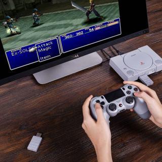 Avec 8Bitdo, jouez avec votre manette PS4 sans fil sur votre Playstation Classic Mini !