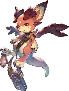 Artwork de Vyrn de Granblue Fantasy Relink