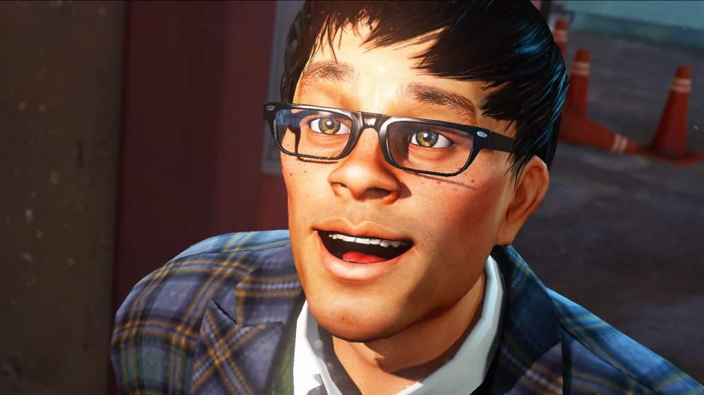 Sam, le geek lunetteux et coincé