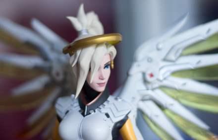 Figurine officielle Ange Overwatch (Mercy Statue)