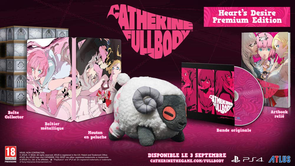 L'édition collector Catherine Full Body Heart's Desire Premium Edition