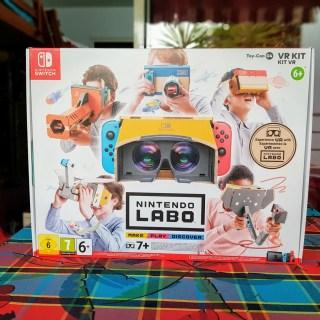 Le Nintendo Labo VR, une expérience étonnante !