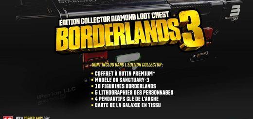 Borderlands 3 édition collector sera bientôt disponible en précommande !