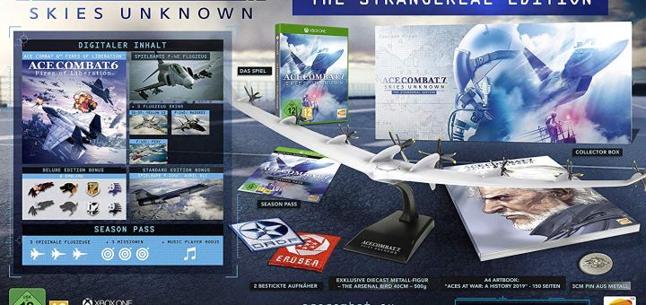 Le collector d'Ace Combat 7 dans sa version Xbox One en promotion !