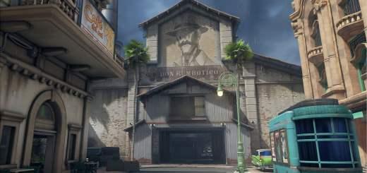 La carte de la Havana (Cuba) dans Overwatch !