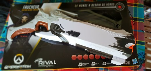 Le pistolet NERF Rival Overwatch Faucheur est une belle surprise !