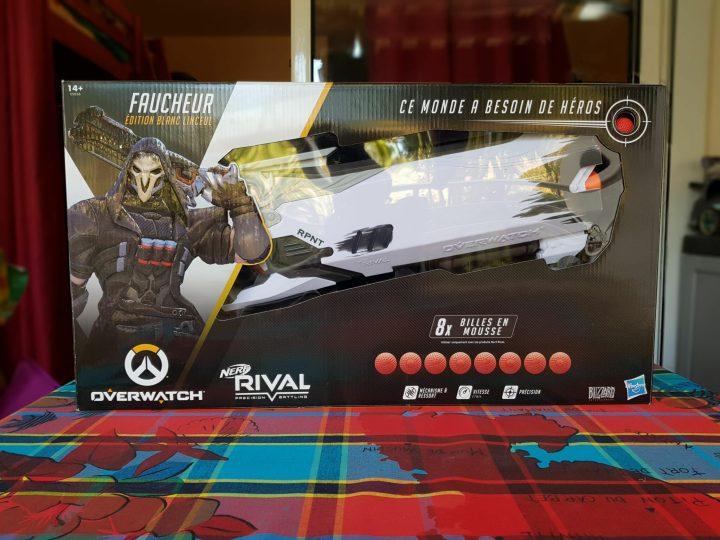 Voici l'emballage officiel du pistolet de Faucheur !