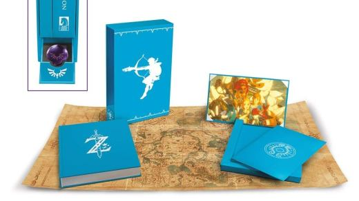 l'artbook officiel de breath of the wild