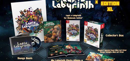 Lapis X Labyrinth Edition Limitée XL